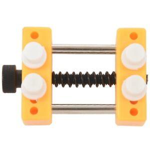 1X-Schraubstock-Werkzeug-Bewegungshalter-oeffnet-Uhrengehaeuse-Zifferblatt-H4Y2