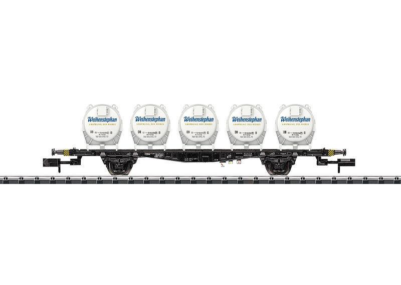 Trix 15742, contenitore portante carrello Weihenstephan, DB, NUOVO E OVP, N