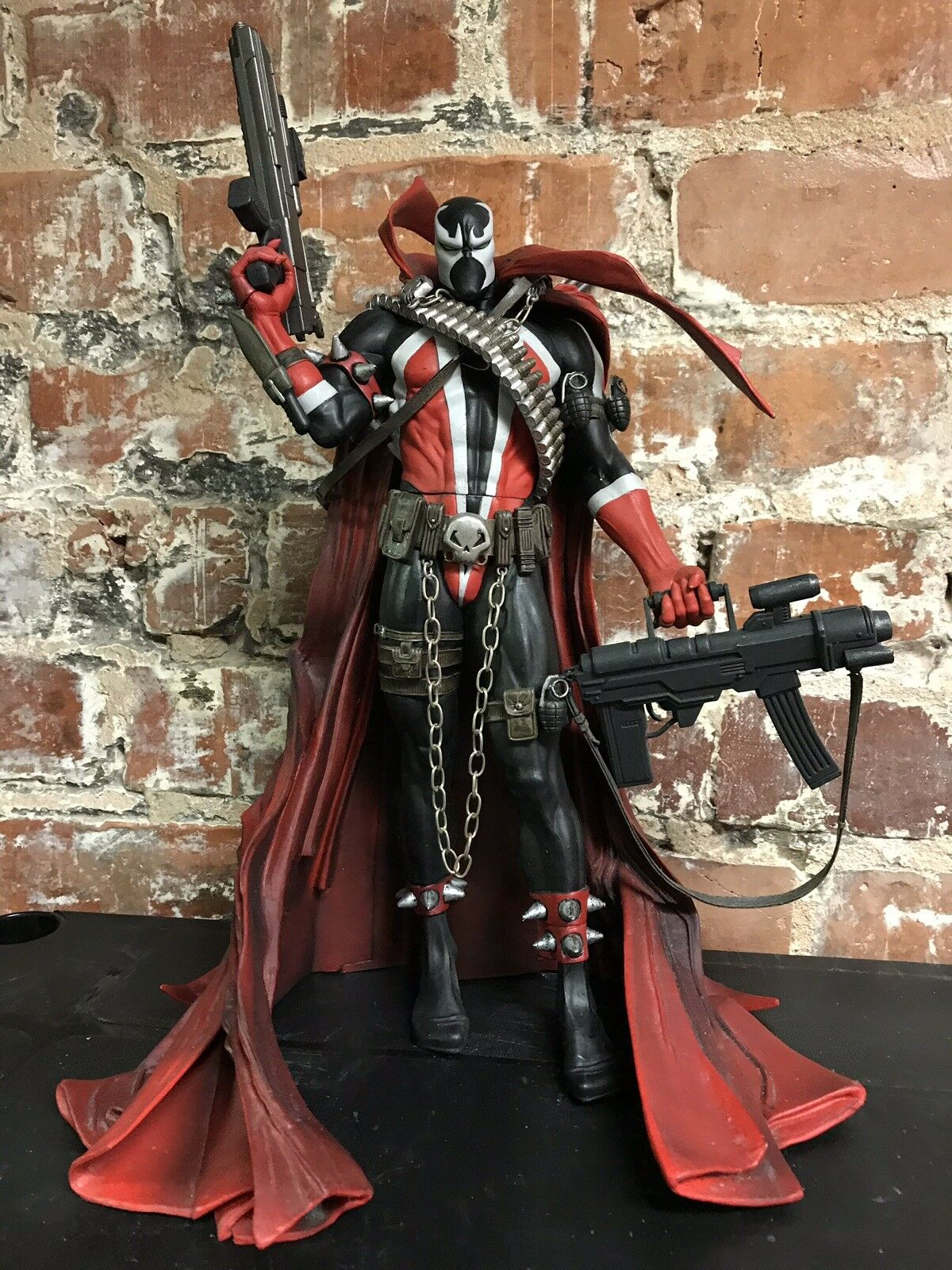 "Spawn Commando Issue 7 Comic Cover Art 12"" Deluxe Figure McFarlane 2006 Rare"