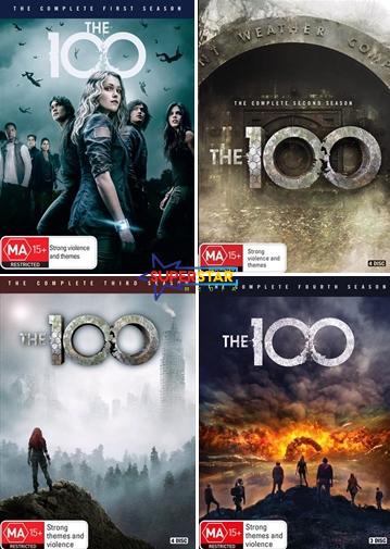The 100  - Season 1 2 3 4 : NEW DVD