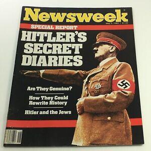 VTG-Newsweek-Magazine-May-2-1983-Adolf-Hitler-039-s-Secret-Diaries-Newsstand