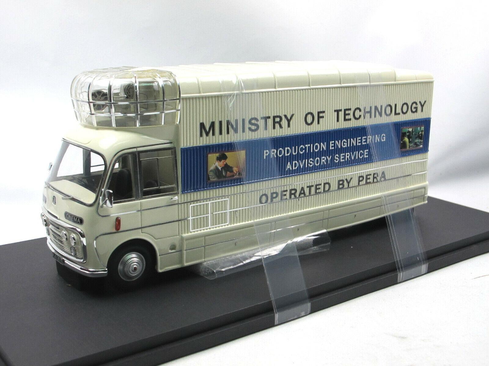 Autocult 10004 - 1967 Bedford sb3 Mobile Cinema-roulant Cinéma-GB - 1 43