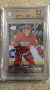 15-16-UD-YG-Young-Guns-Rookie-RC-228-DYLAN-LARKIN-Graded-BGS-9-5