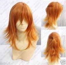 Jinguuji Ren New Long Cosplay Orange Blonde Wig+Free shipping z256