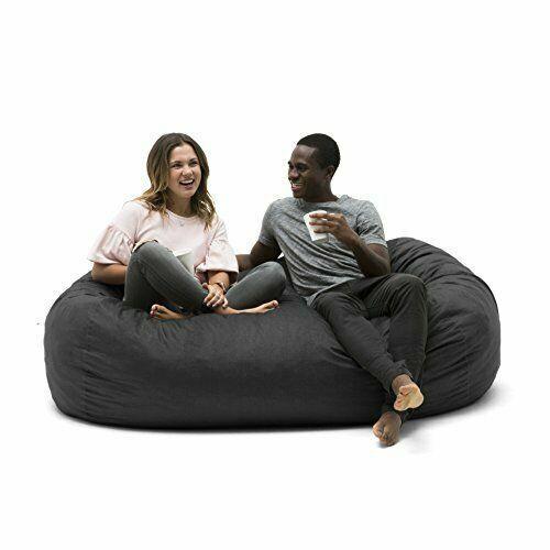 Lounger Foam Filled Bean Bag Chair