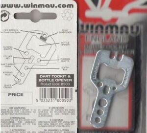 Winmau-Harrows-Dart-Multi-Tool-mit-Flaschenoeffner
