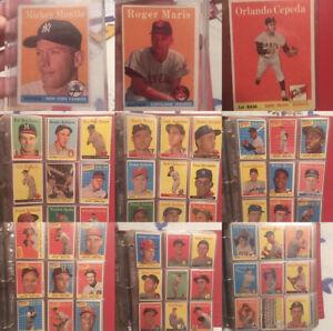 1958 Topps Baseball Complete Set