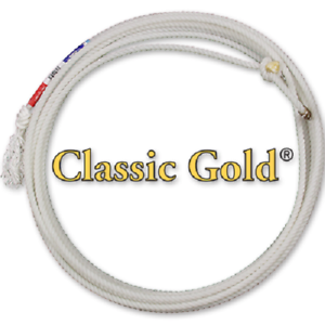 EQUIBRAND CLASSIC TEAM ROPING gold HEAD ROPE 30'