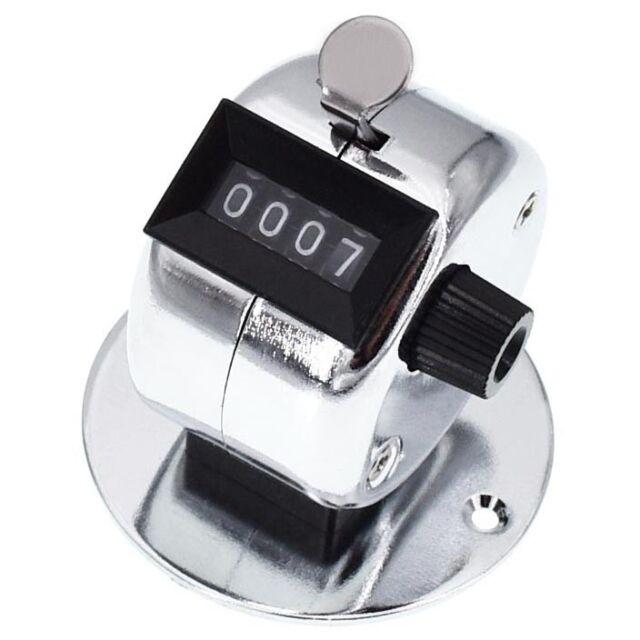 Mechanischer Handzähler mit Sockel Stückgutzähler Zähler Klicker Besucherzähler