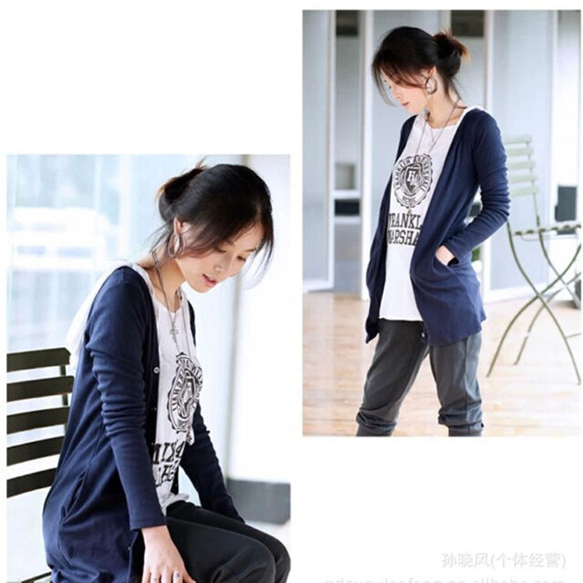 Brand New Women Knitwear Cardigan Shirt Sweater Jumper Outwear AU GT