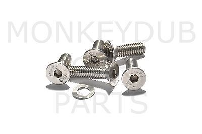 VW Bay Window Rear Hatch Lock Stainless Steel Screws kit