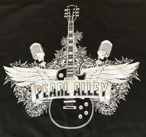 Pearl-Alley-Band-T-Shirts-Black-or-White-Men-039-s-and-Ladies-styles