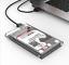 USB-3-0-SATA-2-5-034-HDD-SSD-Transparent-External-Hard-Drive-Enclosure-Disk-Case-KY thumbnail 1