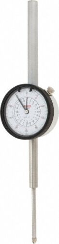 "22-310-7 SPI Deluxe Dial Indicator 2.00"" Range 0.001"" Graduation 0-100 Reading"