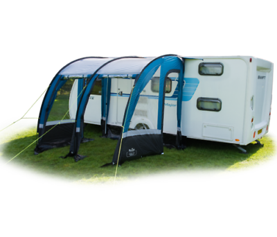 NEW Royal Oxhill 260 Lightweight Caravan Porch Awning ...