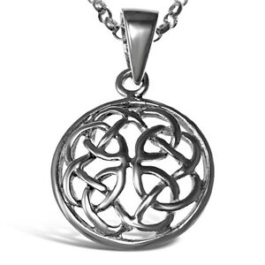 Beautiful sterling silver celtic pendant with 18 silver chain ebay image is loading beautiful sterling silver celtic pendant with 18 034 mozeypictures Images