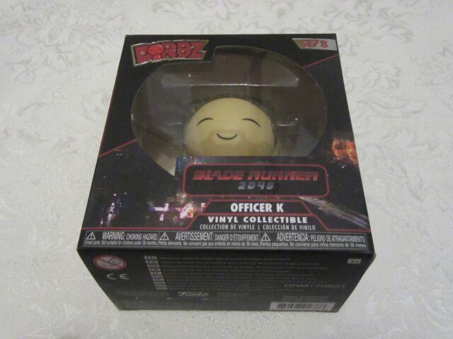 Officer K Collectible Figure Blade Runner 2049 Funko Dorbz
