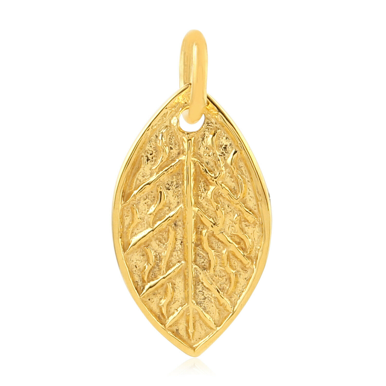 Memorial Gift Pendant Charm 18k Yellow gold Jewelry