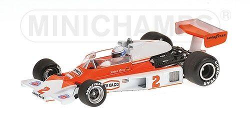 McLaren Ford M23 J. Mass Gp Usa 1977 1:43 Model MINICHAMPS