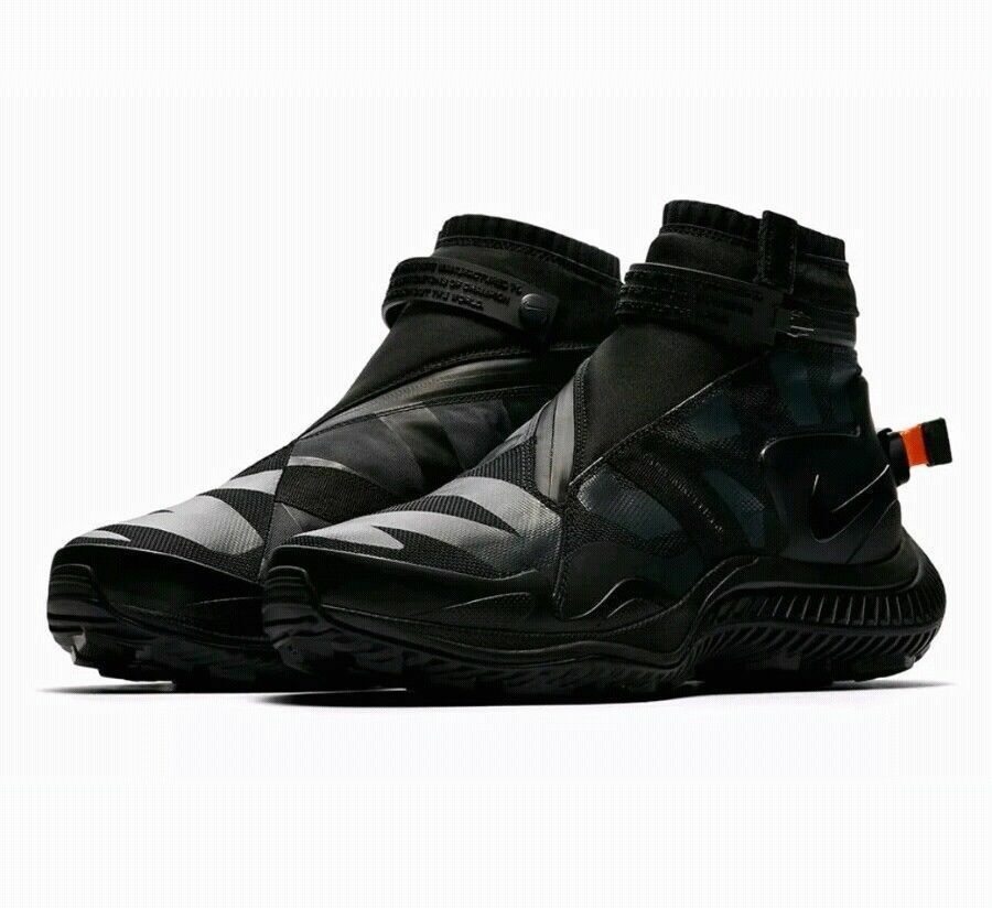 nike nsw hommes gaiter hommes nsw bottes taille: 8 noir anthracite noire anthracite aa0530 001 da6b0e