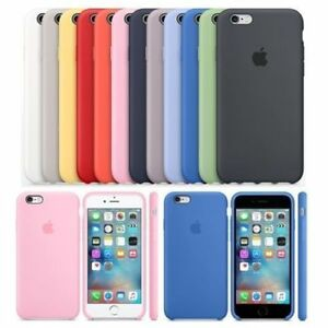 Genuine-Original-Case-for-Apple-iPhone-X-8-7-6-plus-Hard-Silicone-Phone-Cover