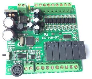 Details about 14MR 8 input/6 output,PLC by Mitsubishi FX1S Gx developer  Without cable RS485