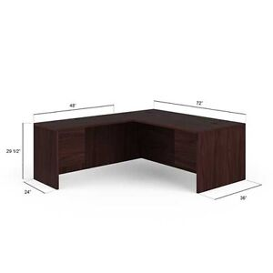 hon 10500 series right handed l shaped desk 105lr7284n