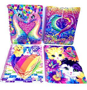 2 Pocket Folder Combo Set Dolphins Cub NEW Lisa Frank 6 Pieces Spiral Notebook