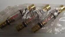 (3) 4 Gauge AGU Fuse holder 04130S With (5) 80 Amp Gold Glass AGU Fuses