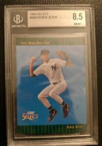 1993-SCORE-SELECT-360-DEREK-JETER-ROOKIE-CARD-RC-NEW-YORK-YANKEES-HOF-BGS-8-5