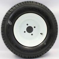 Loadstar 4-hole 8 X 3.75 White Trailer Wheel & Tire 5.70-8 6ply 40856
