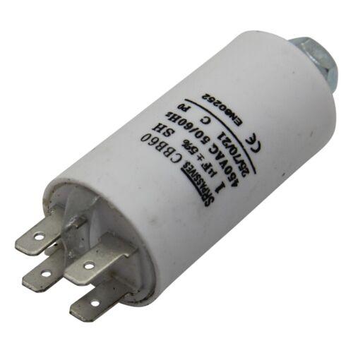 für Motoren Betrieb 10uF 450V Ø35x65mm CBB60E-10//450 Kondensator 25-70°C SR P