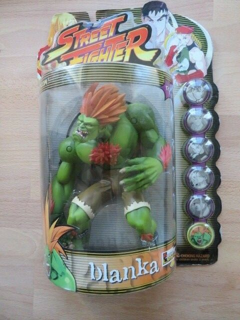 NEW Street Fighter Alpha 3 BLANKA Round One Action Figure