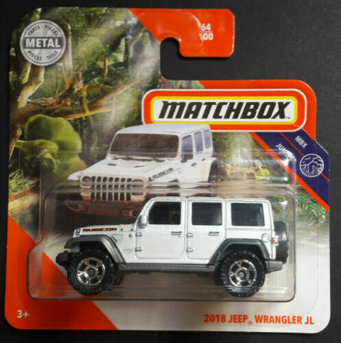 MATCHBOX 2020 2018 JEEP WRANGLER JL MBX JUNGLE NEU /& OVP