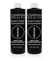 Common Wealth Instant Liquid Hot Lather Machine Concentrate Shaving Cream Soap