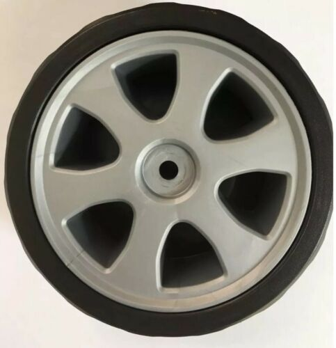 1 Pair QUALCAST FRONT WHEELS  ELECTRIC Lawnmower Fits 1200//1300//1400//1600 Models