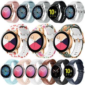 Silicone Strap Watch Band for Garmin Forerunner 245 245M 645 Vivoactive 3 S40