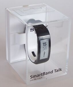 SONY-SWR30-SMARTBAND-TALK-BLUETOOTH-3-0-SMART-WATCH-MAKE-CALLS-FROM-WRIST-BLACK