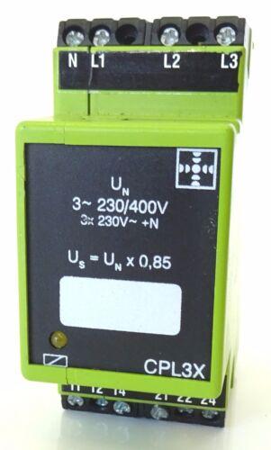 Tele Haase cpl3x tensione relè di controllo relè di controllo 3 ~ 230//400v