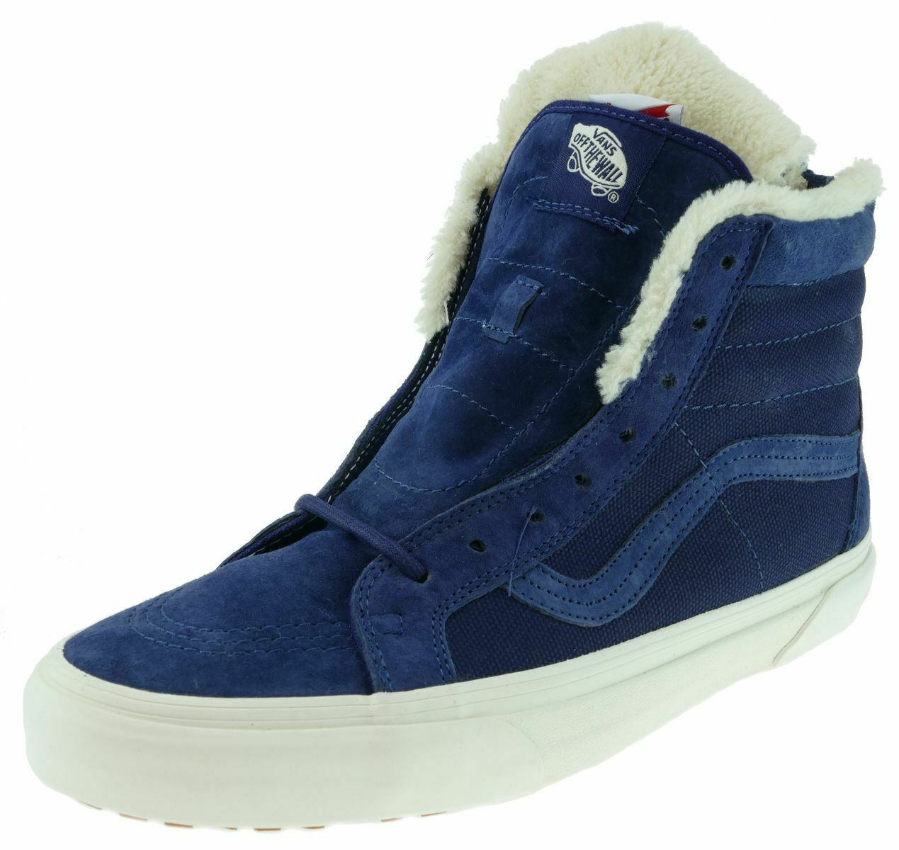 Vans sk8-hi ZIP T.O. MTE California Collection patriota azul Fleece talla 45