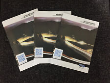FORD SERVICE BOOK BRAND NEW GENUINE NOT DUPLICATE ALL MODELS PETROL AND DIESEL/'/'