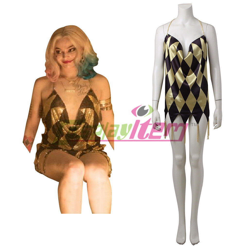Suicide Squad Harley Quinn Club Dress Cosplay Costume