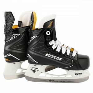 Details About New 80 Kids Boys Youth 2 8 Years Old Bauer Supreme S160 Ice Hockey Skates