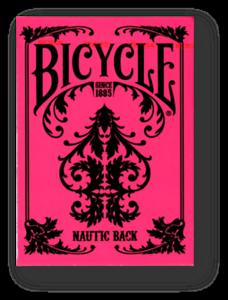 Bicycle-Nautic-Rosa-Jugando-a-las-Cartas-Poquer-Juego-de-Cartas-Cardistry