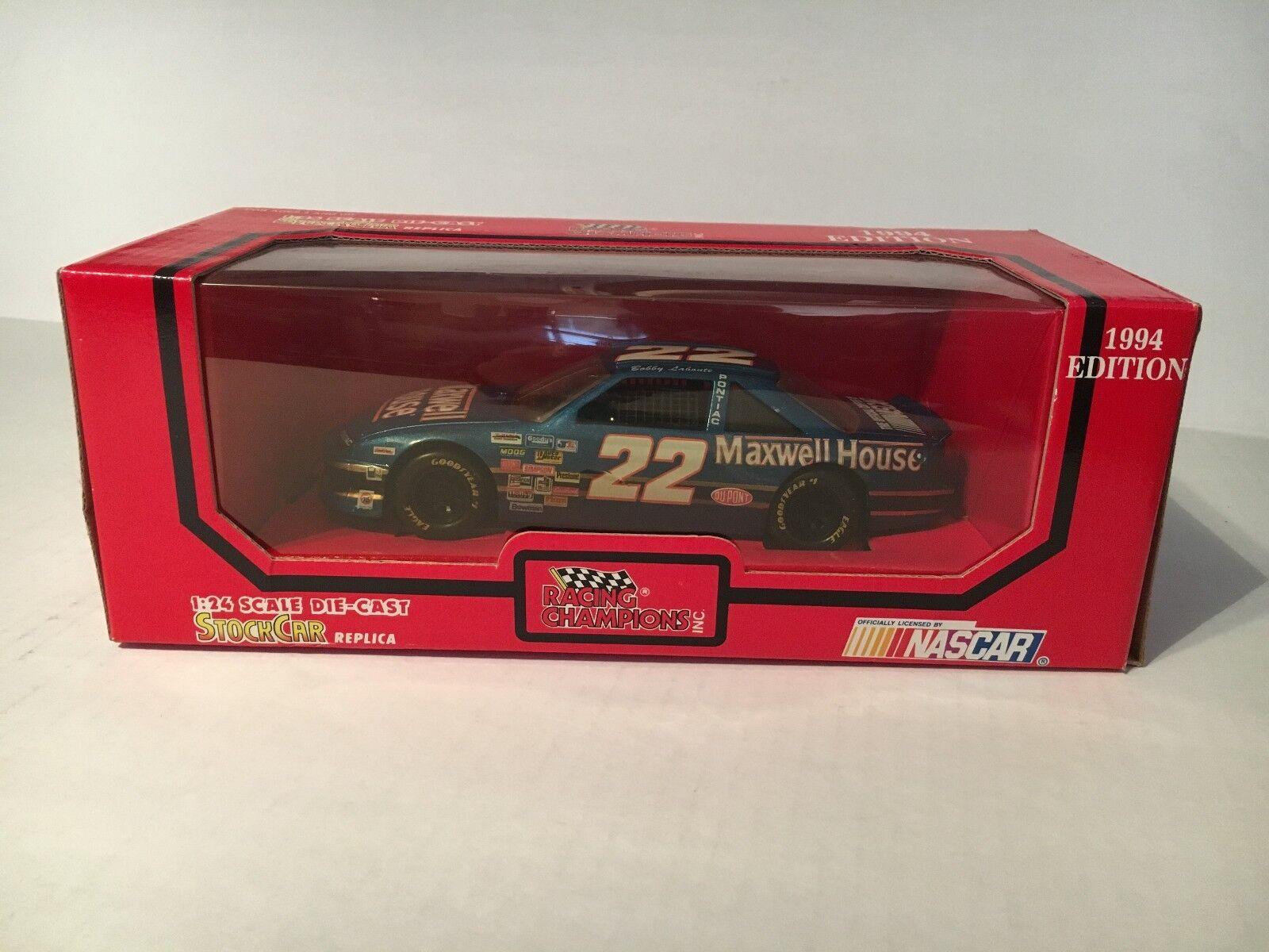 1994 RACING CHAMPIONS 1 24 Diecast NASCAR NASCAR NASCAR Bobby Labonte Maxwell House 66c96a
