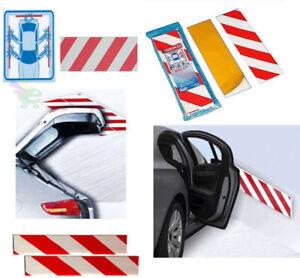 Kit 2 Pz Panel Antiurto Adhesivo Parachoques Salva Coche Para Parking Garaje