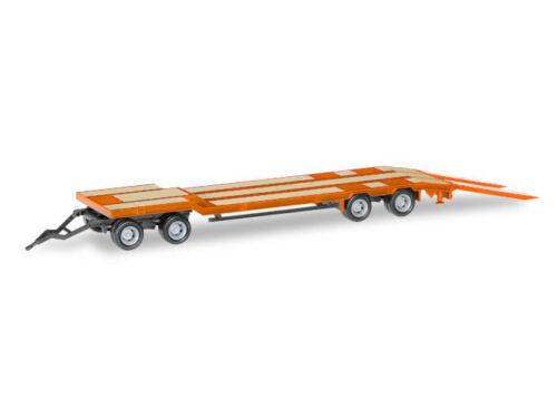 Herpa 076142-006 H0 LKW Goldhofer TU 4 Anhänger