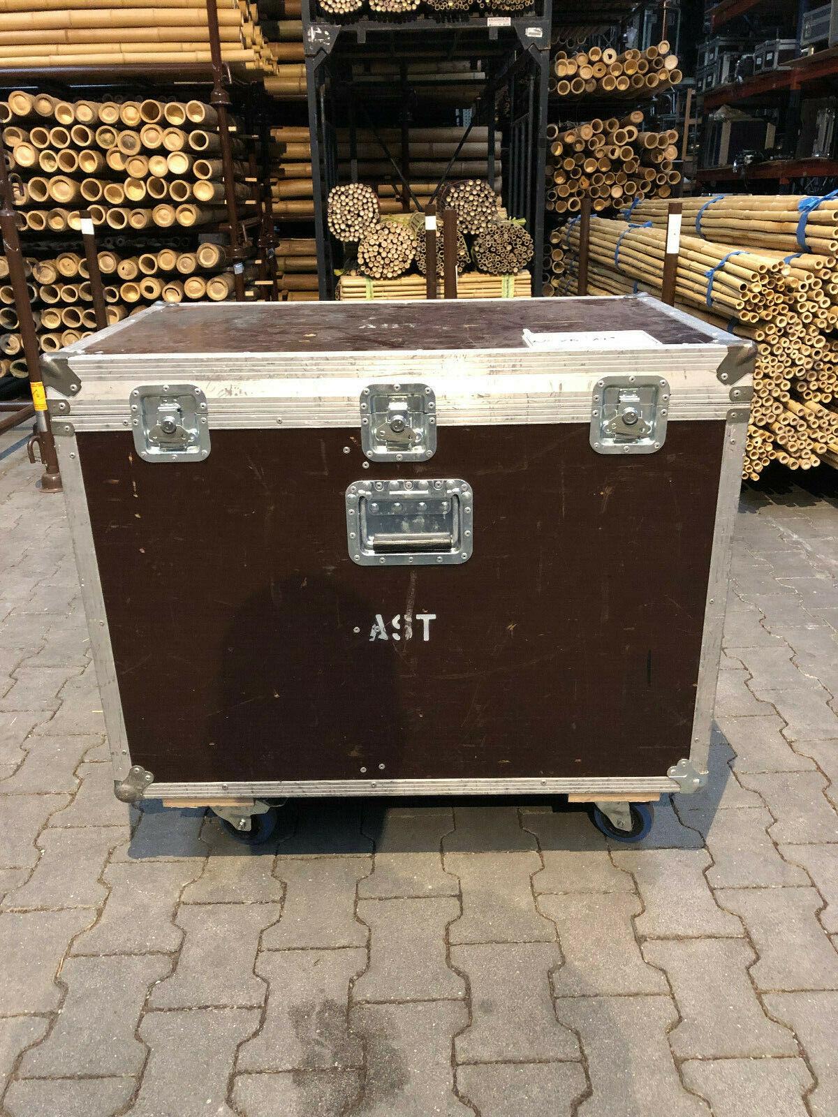 Transportkiste für Bühnenmonitore Lautsprecher - Innenmaße 90x56,5 H 59,0 6,5 z.