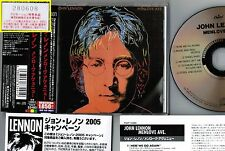 Ex+! JOHN LENNON Menlove Avenue JAPAN PROMO CD w/OBI+24p PS BOOKLET TOCP-53480