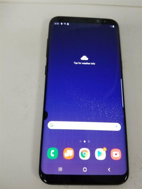 Samsung Galaxy S8+ 64GB Black SM-G955U (Verizon) Great Phone Discounted JW3598